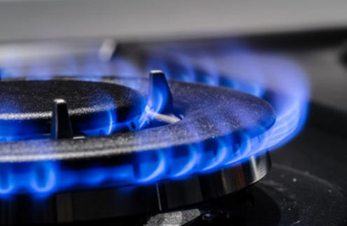 Propane as a home fuel source.